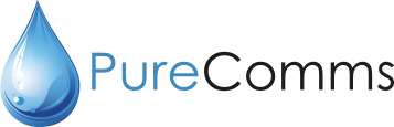 PureComms Retina Logo